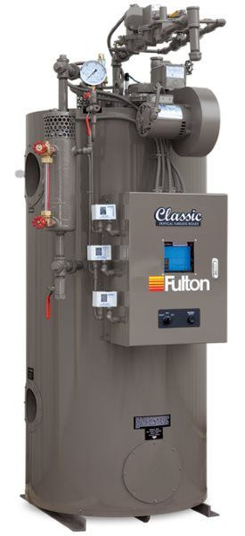 Fulton Classic (ICW) Vertical Tubeless Hot Water Boiler