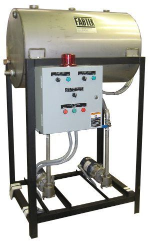 Stainless Steel Horizontal Elevated Boiler Feed System