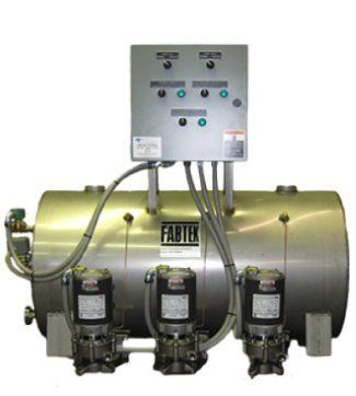 Horizontal Floor Mounted Boiler Feed Systems
