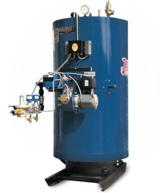 Hurst 4VT Cyclone Hot Water Boilers