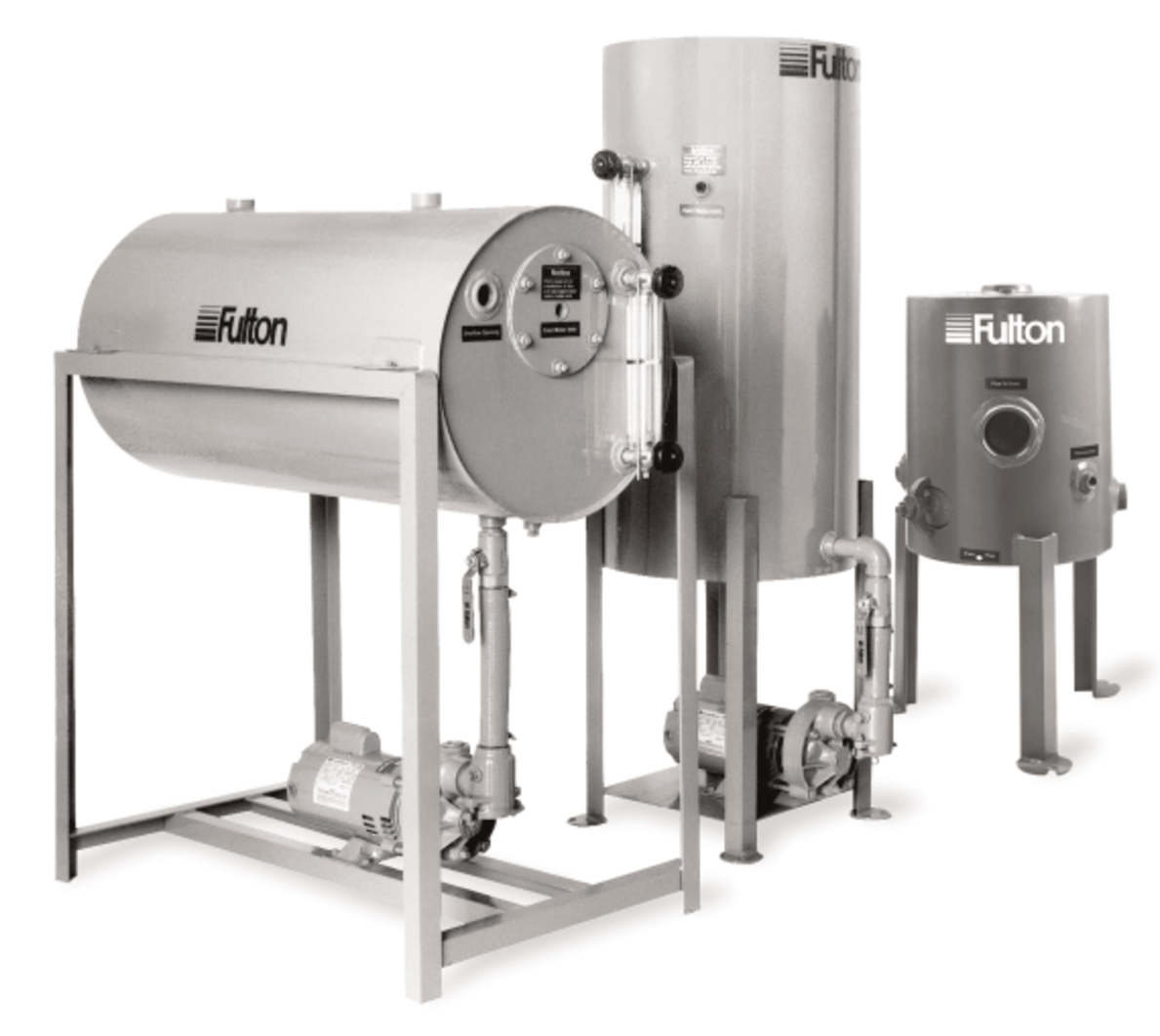 Steam Boiler Condensate Return System ~ Fulton steam boiler accessories