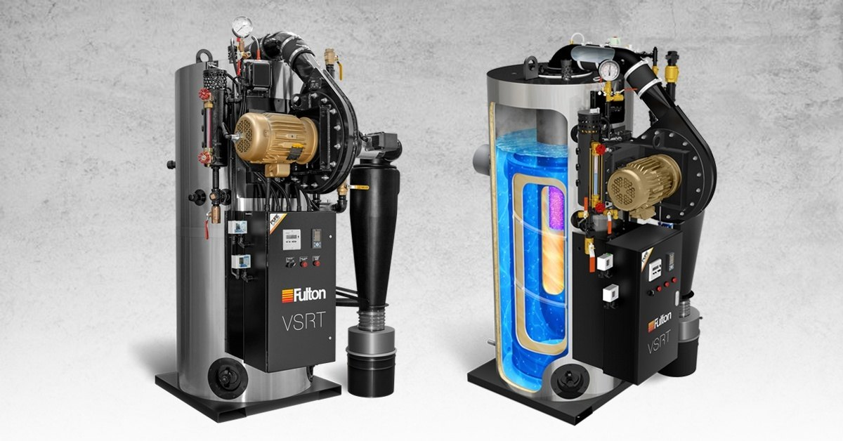 Fulton VSRT Series: Is This the Future of Steam Boilers?