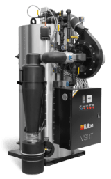 Fulton VSRT vertical steam boiler