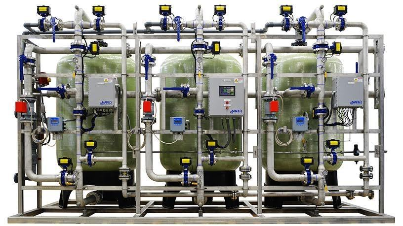 Marlo Inc Industrial Water Softener System