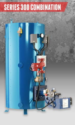 Superior Boilers - Combination Boiler Product Line - 300 Combo