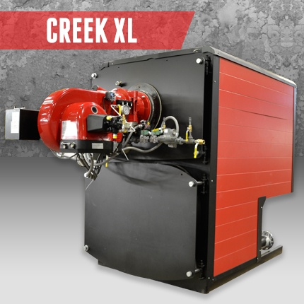 Superior Boilers - Creek High Efficiency Condensing Boiler Product Line - Creek XL