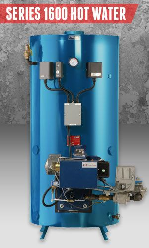 Superior Boilers - Domestic Hot Water Boiler Product Line - 1600 Hot Water