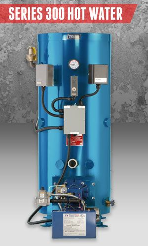 Superior Boilers - Domestic Hot Water Boiler Product Line - 300 Hot Water