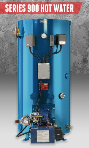 Superior Boilers - Domestic Hot Water Boiler Product Line - 900 Hot Water