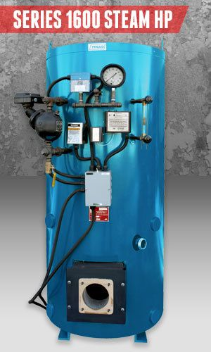 Superior Boilers - Steam Boiler Product Line - 1600 Steam HP
