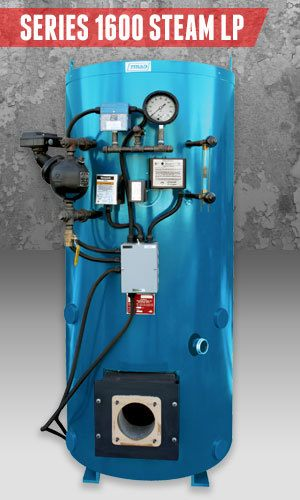 Superior Boilers - Steam Boiler Product Line - 1600 Steam LP