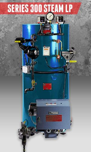 Superior Boilers - Steam Boiler Product Line - 300 Steam LP