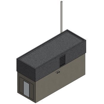 2G Energy High Line Concrete Acoustic Enclosure